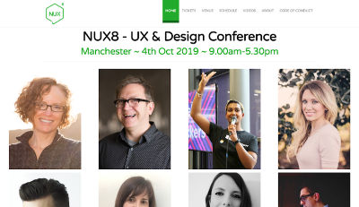 NUX8 - UX & Design Conference image